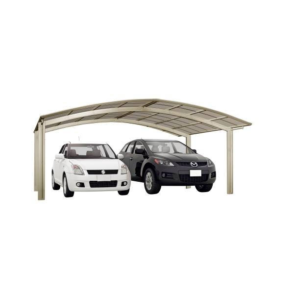 Ximax Carport Portoforte Typ 60 M-Ausführung Edelstahl-Look