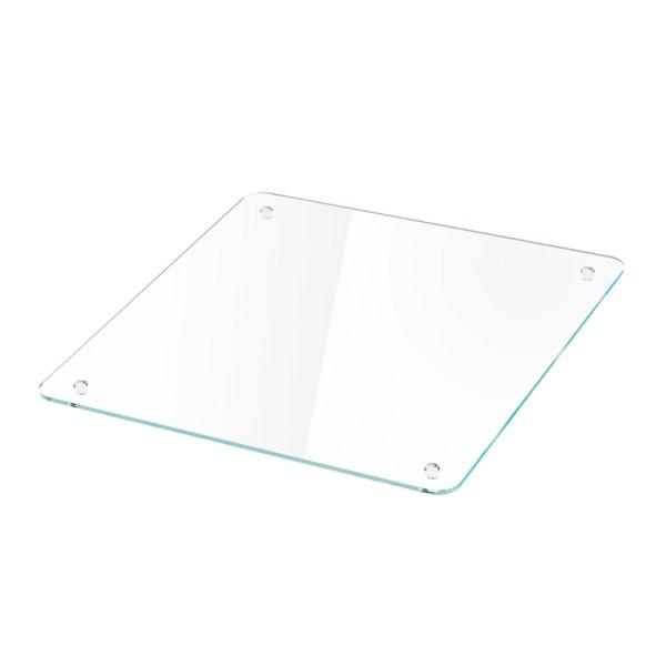 Moree Cube Glasplatte eckig 40 x 40 cm
