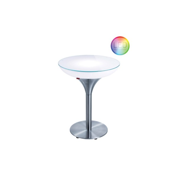Moree Tisch Lounge M 75 LED Accu Outdoor