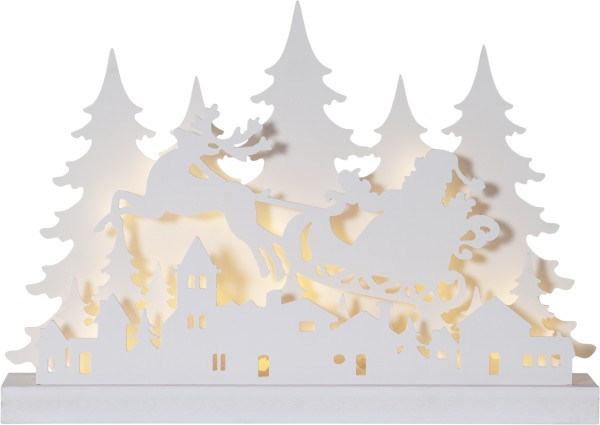 Best Season LED-Fensterleuchter GRANDY, 78 warmweiße LEDs