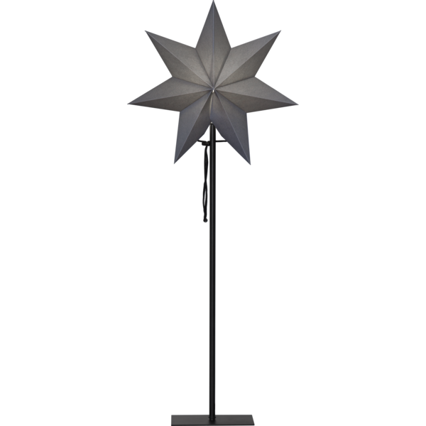 Best Season Standstern Stern OZEN, grau, Höhe ca. 85 cm