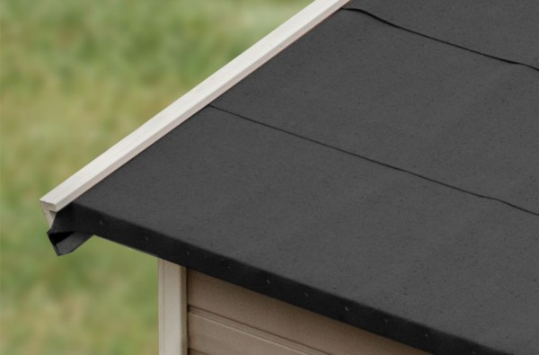 Selbstklebende Bitumen-Dachbahnen, schwarz