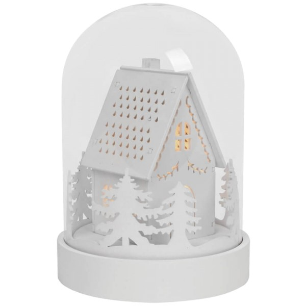 Best Season LED-Glocke KUPOL, 3 warmweiße LEDs, Ø 12 cm