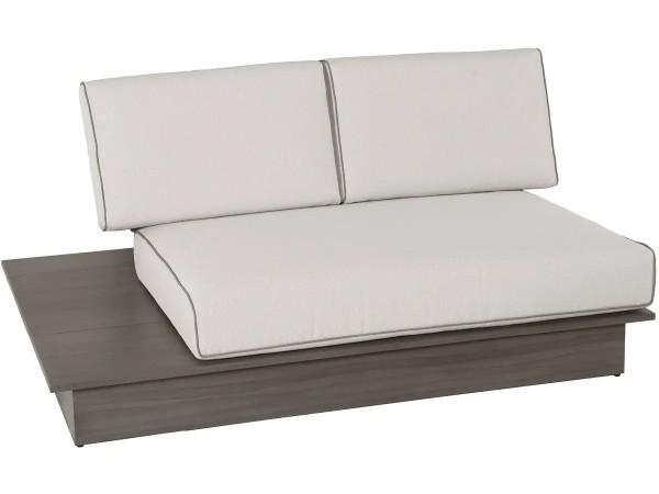 2-Sitzer La Villa Lounge inkl. Polster, stone grey