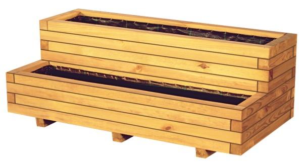 Pflanzkasten VITJA mit 2 Stufen inkl. Folieneinsatz