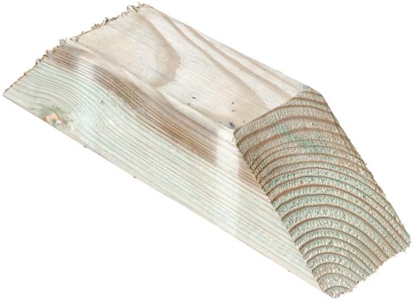 5 Stück Kopfbänder für Pergola 9 x 9 x 35 cm