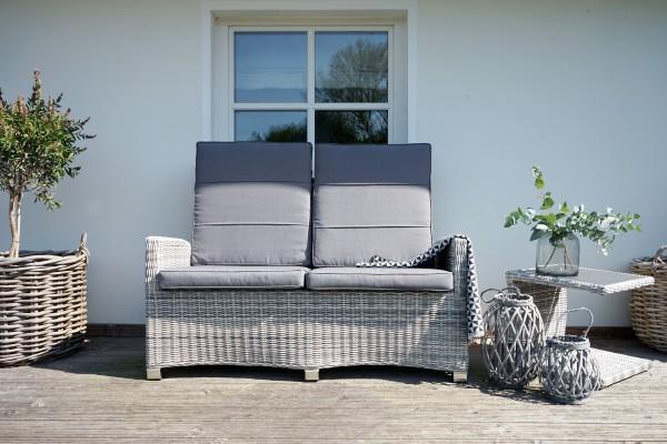 Speise-/Lounge-Sofa MIAMI COMFORT 2-Sitzer