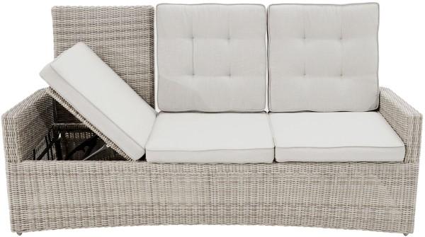 3-Sitzer Speise-/Lounge-Sofa SAHARA COMFORT