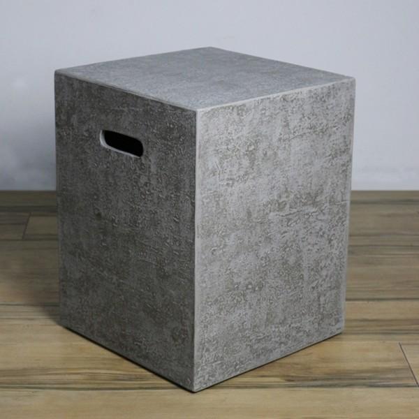 Abdeckung für Gasflaschen, Travertin-Optik Faser-Beton, für 5 kg Gasbehälter