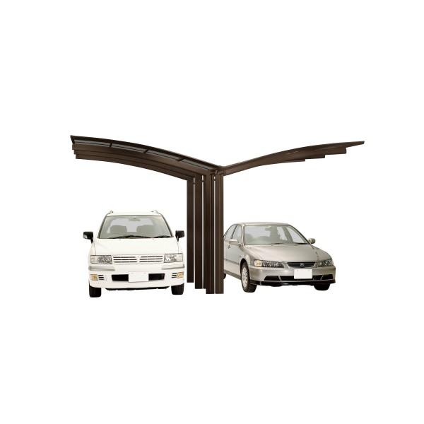 Ximax Carport Portoforte Typ 110 Y-Ausführung Mattbraun
