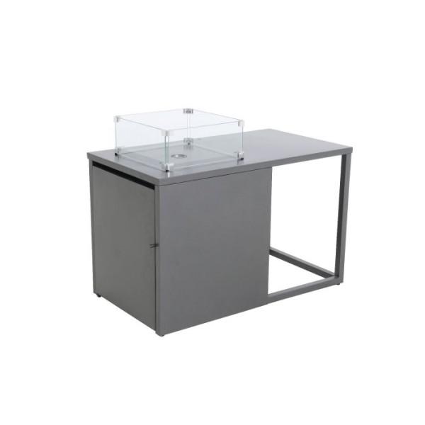 MWH GmbH Feuertisch aus Aluminium Palermo L