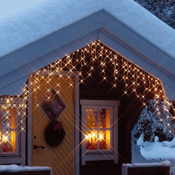 LED-Eislichtervorhang 100 warmweiße LEDs