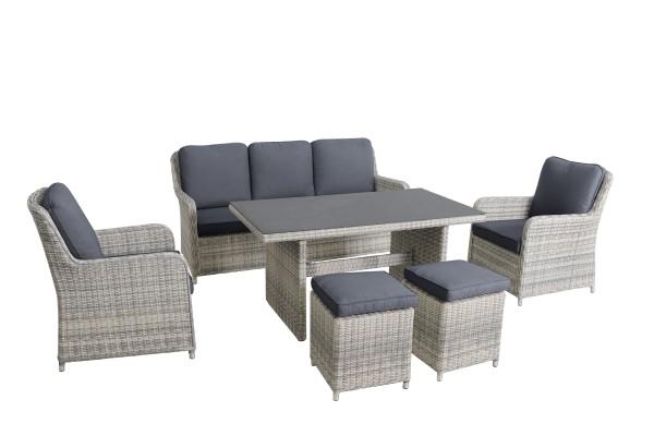 6-teiliges Lounge-Set LODRINO