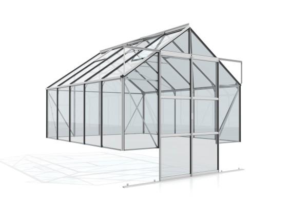 Vitavia Gewächshaus Cassandra 8300 inkl. 4 Dachfenstern - 8,3 qm