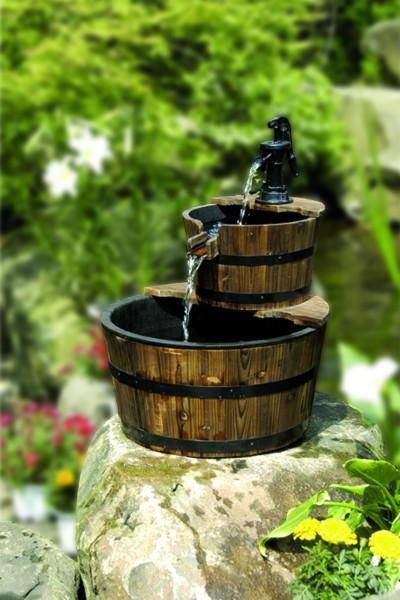 Wasserspiel Galway mit Holzbecken