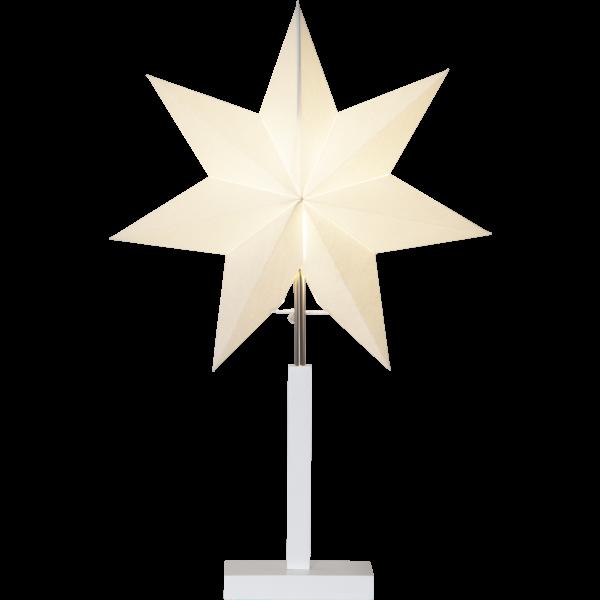 Standleuchte Sterne KARO, Höhe ca. 52 cm