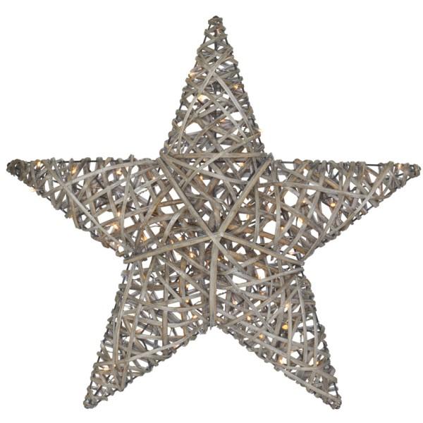 Mark Slöjd Außenleuchte Stern, BERG, 100 warmweiße LEDs, Ø 85 cm