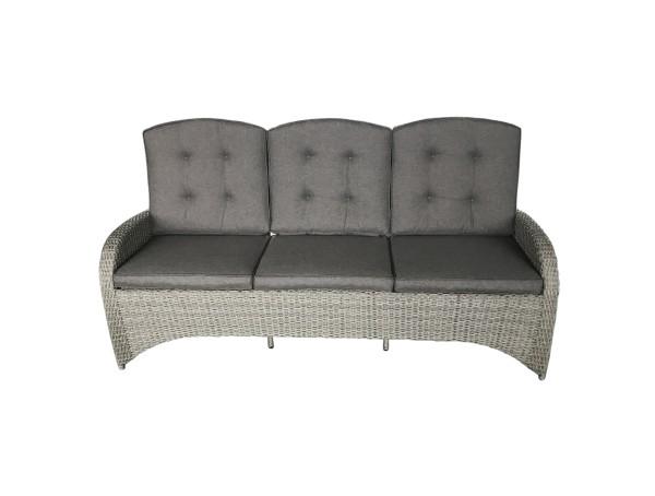Ploß 3-Sitzer Speise-/Lounge-Sofa KIBICO COMFORT