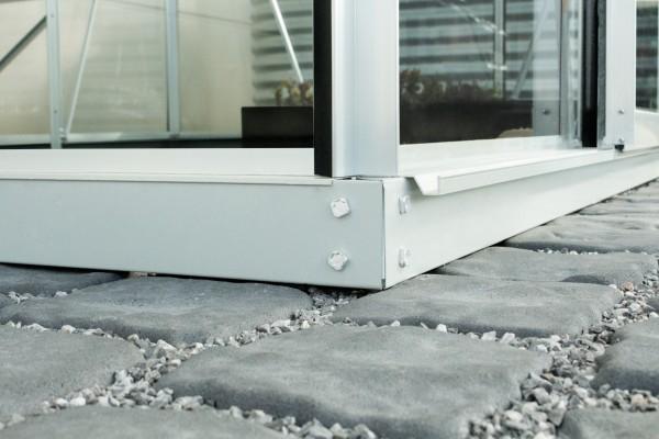 Vitavia Stahlfundamentrahmen für Gewächshaus Orion 5000