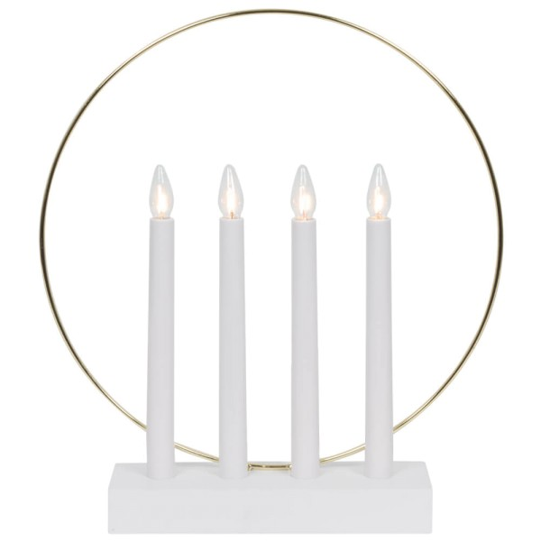 Weihnachtsleuchter GLOSSY RING Ø 32 cm
