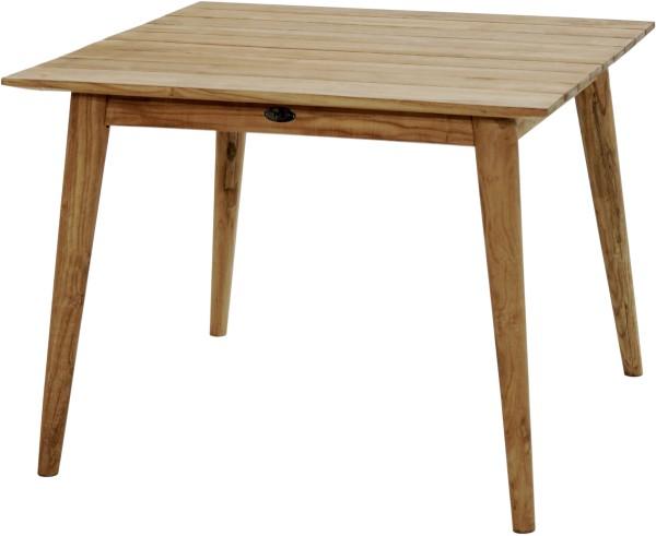 Ploß Design-Loft-Tisch WELLINGTON 100x100 cm