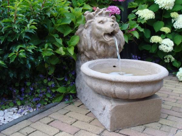 Ubbink Wasserspeier mit Löwenkopf BASEL und LED Beleuchtung