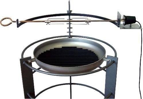 Grill Big Meal Spießbratenaufsatz mit elektrischem Motor