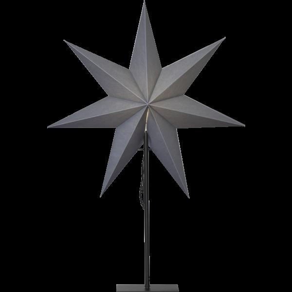 Best Season Standstern Stern OZEN, grau, Höhe ca. 75 cm