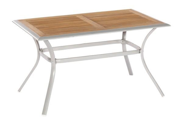 Merxx Siena Tisch 140x 80 cm, Tischplatte aus Akazienholz