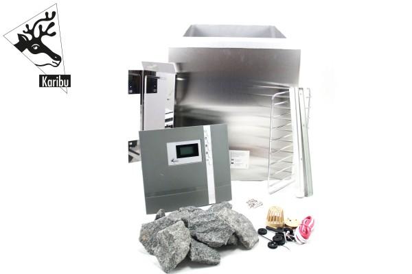 Sparset Biokombiofen 9 kW inkl. Steuergerät Premium Bio