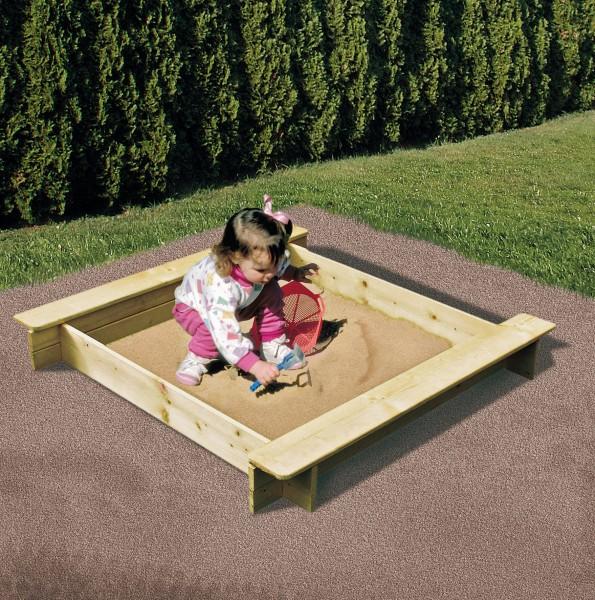 Holz Sandkasten AVA