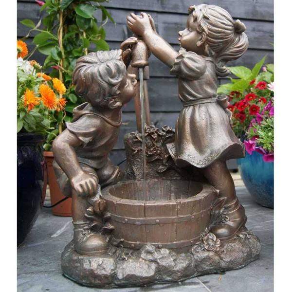 """Ubbink Wasserspiel Memphis """"Kinder am Brunnen"""""""