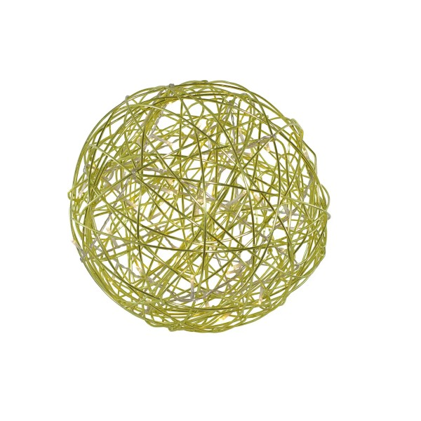 LED-3D-Design-Kugel Galax Fun, Ø 30 cm, grün