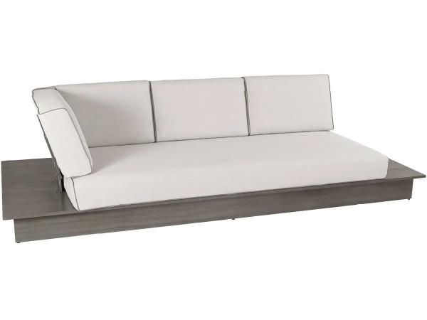 3-Sitzer La Villa Lounge inkl. Polster, stone grey