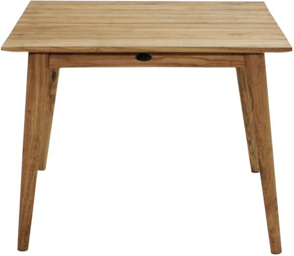 Ploß Design-Loft-Tisch WELLINGTON 100 x 100 cm