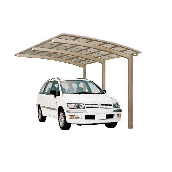 Ximax Carport Portoforte Typ 110 Standard Edelstahl-Look