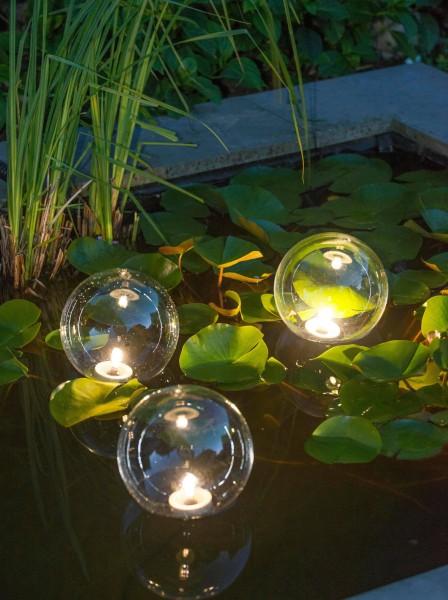 Ubbink Multi Bright Float 3 LED - schwimmende Kunststoffkugeln