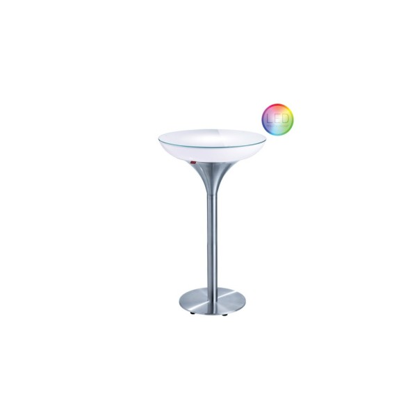 Moree Tisch Lounge M 105 LED Accu Outdoor