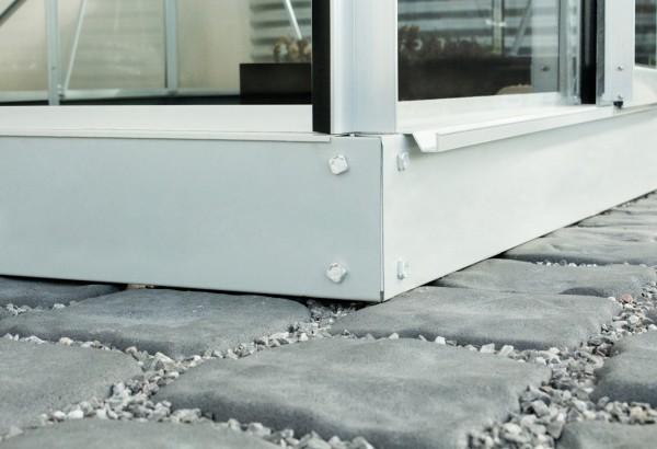 Vitavia Stahlfundament für Gewächshaus Calypso 3000