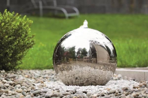seliger® Edelstahl-Gartenbrunnen Atlantic