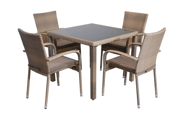 Ploß 5-teilig Dining-Set WINDSOR 1