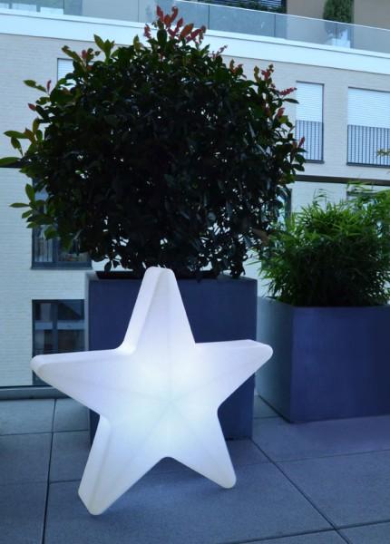LED Stern mit Akku, Maße ca. 40 x 40 cm