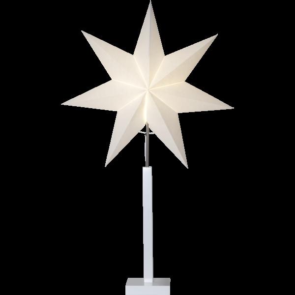 Standleuchte Sterne KARO, Höhe ca. 100 cm