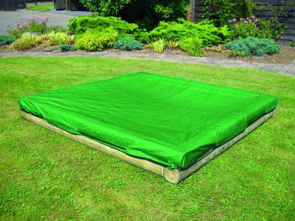 Abdeckung für Sandkasten KLAUS, grün