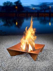 Keilbach Feuerschale Feuerstelle Fluxus Grande