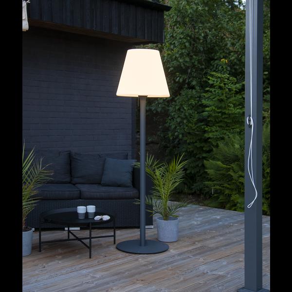 LED Stehlampe KRETA, Höhe ca. 184 cm