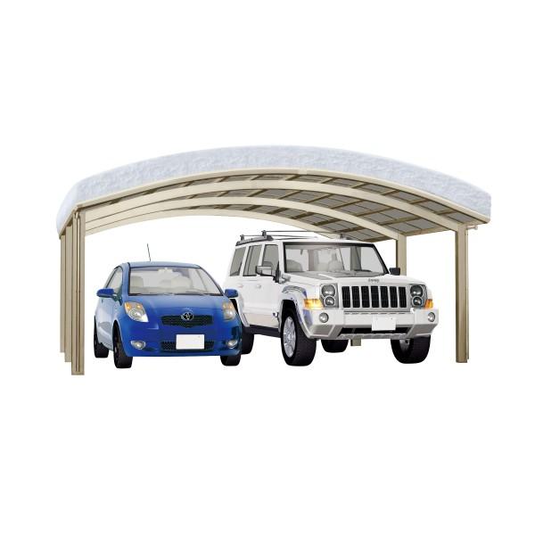 Ximax Carport Portoforte Typ 110 M-Ausführung Edelstahl-Look