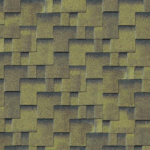 Dachschindeln, Asymmetrisch