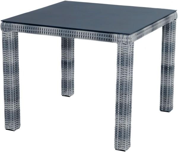 Dining Tisch MIAMI quadratisch, 90x90 cm