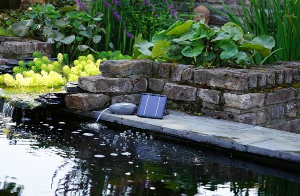 Ubbink Air Solar 100 Outdoor Belüftungspumpe